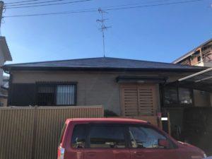 奈良香芝市I様邸 屋根塗装工事