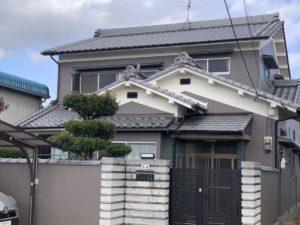 奈良・大和高田市U様邸、外壁塗装