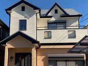 奈良香芝市A様邸 外壁塗装・屋根塗装・防水工事