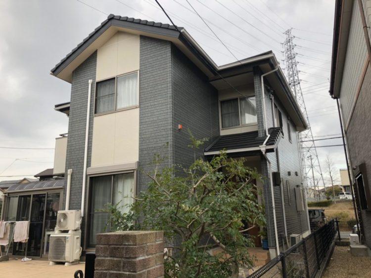 奈良生駒市N様 外壁塗装・防水工事 施工後の写真