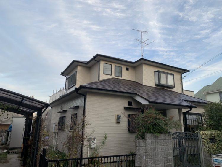 奈良・北葛城郡河合町S様 外壁塗装・屋根塗装 施工後の写真