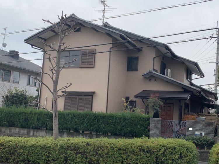 奈良生駒市H様邸 外壁塗装 施工後の写真