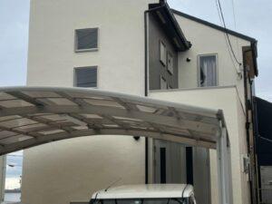 奈良香芝市T様邸 外壁塗装・屋根カバー工法・防水工事