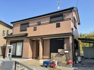 奈良大和高田市H様邸 外壁塗装工事