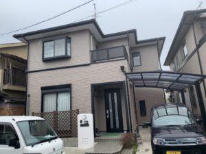 奈良橿原市K様邸 外壁塗装・屋根塗装・ベランダ防水工事