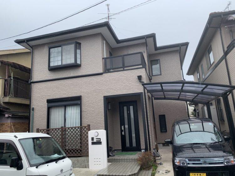 奈良橿原市K様 外壁塗装・屋根塗装・防水工事 施工後の写真