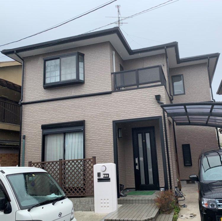 奈良橿原市K様 外壁塗装・屋根塗装・ベランダ防水工事 施工後の写真