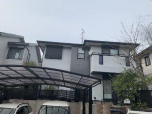 北葛城郡広陵町U様邸 外壁塗装・屋根塗装工事