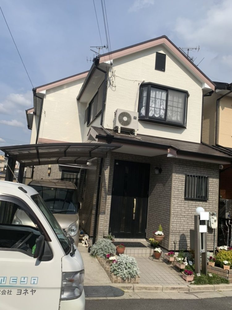 奈良大和高田市N様邸 外壁塗装・屋根塗装 施工後の写真