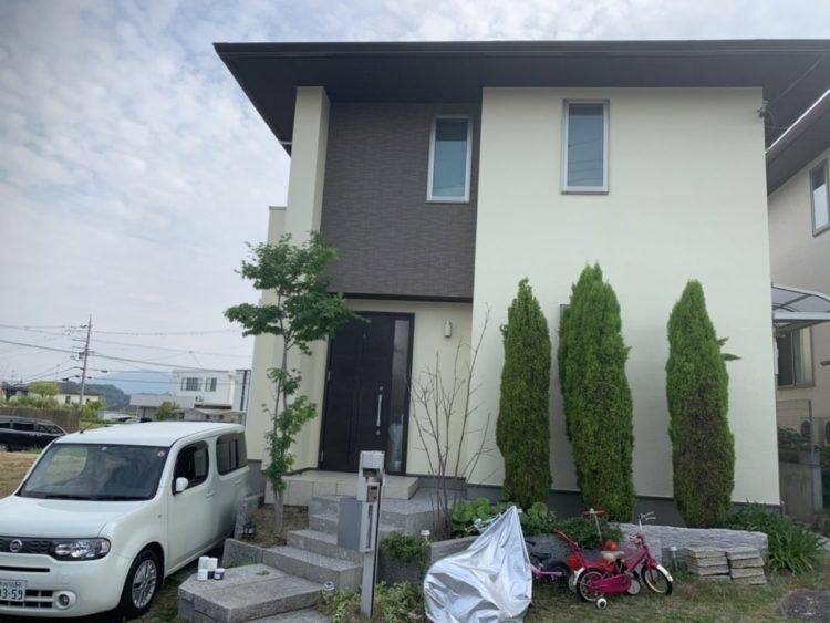 奈良生駒郡三郷町F様邸 外壁塗装・屋根塗装 施工後の写真