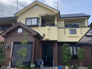 奈良香芝市U様邸 外壁塗装・屋根塗装工事