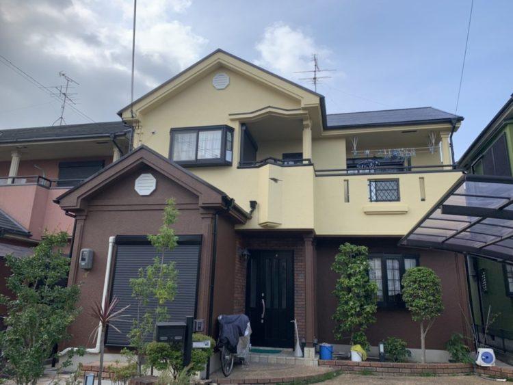 奈良香芝市U様 外壁塗装・屋根塗装工事 施工後の写真
