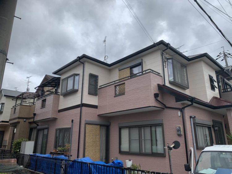 奈良香芝市O様 外壁塗装・屋根塗装・防水工事 施工後の写真