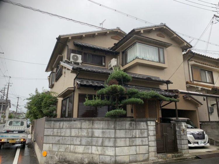 奈良香芝市T様 外壁塗装 施工後の写真