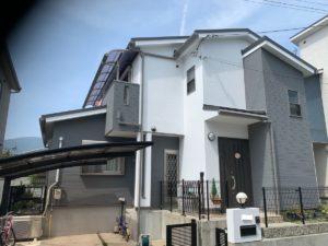 奈良生駒市 N様邸 外壁塗装・屋根カバー工法・ベランダ防水工事・外塀塗装