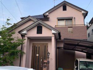 奈良生駒郡三郷町T様邸 外壁塗装・屋根塗装・ベランダ防水工事