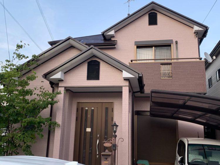 奈良生駒郡三郷町T様邸 外壁塗装・屋根塗装・ベランダ防水工事 施工後の写真