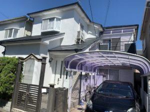 奈良御所市H様邸 外壁塗装・屋根塗装・ベランダ防水工事