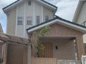 奈良大和郡山市N様邸 外壁塗装・ベランダ防水工事