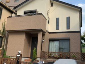奈良奈良市U様邸 外壁塗装・屋根塗装・ベランダ防水工事