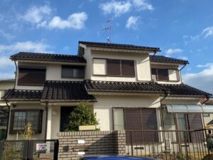奈良生駒郡三郷町N様邸 外壁塗装工事