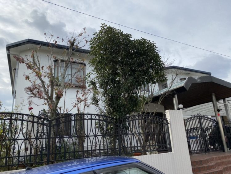 奈良香芝市K様邸 外壁塗装・防水工事 施工後の写真