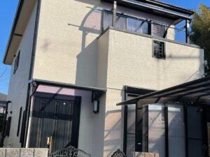 奈良生駒市K様邸 外壁塗装・屋根塗装・防水工事