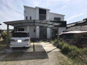 奈良磯城郡三宅町I様邸 外壁塗装・屋根塗装・防水工事