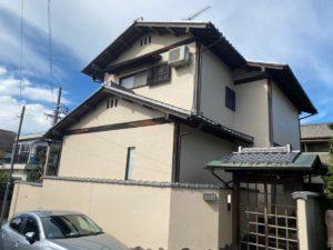 奈良香芝市M様邸 外壁塗装・ベランダ防水工事・外塀塗装