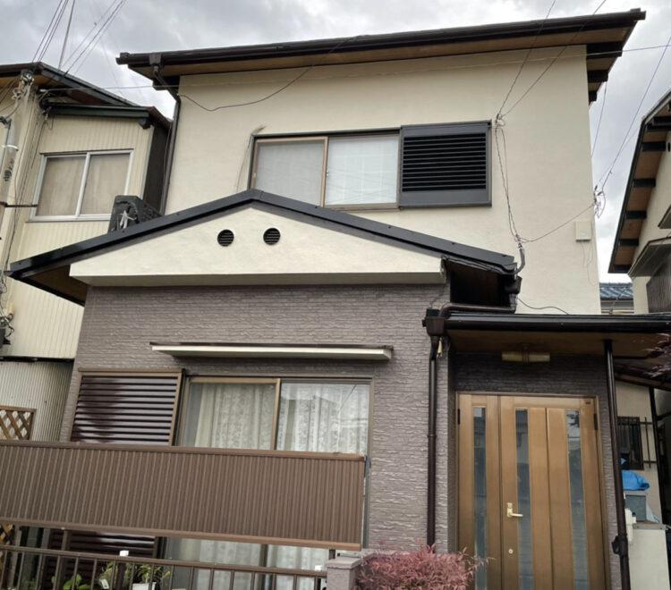 奈良県大和高田市A様鄭 外壁塗装・屋根塗装 施工後の写真