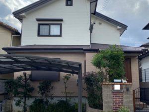 奈良香芝市N様邸 外壁塗装・屋根塗装・防水工事