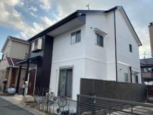 奈良奈良市M様邸 外壁塗装・屋根塗装・ベランダ防水工事