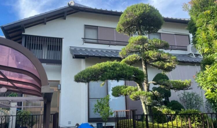奈良北葛城郡王寺町M様邸 外壁塗装工事 施工後の写真