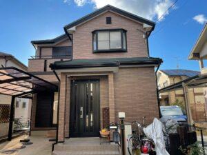 奈良大和高田市W様邸 外壁塗装・屋根カバー工法・防水工事