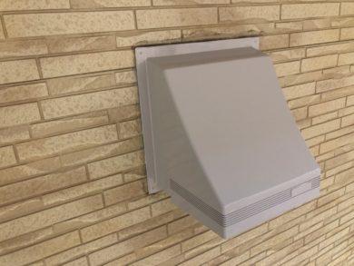 奈良大和郡山市N様邸 外壁塗装・ベランダ防水工事 換気フードフッ素仕上げ