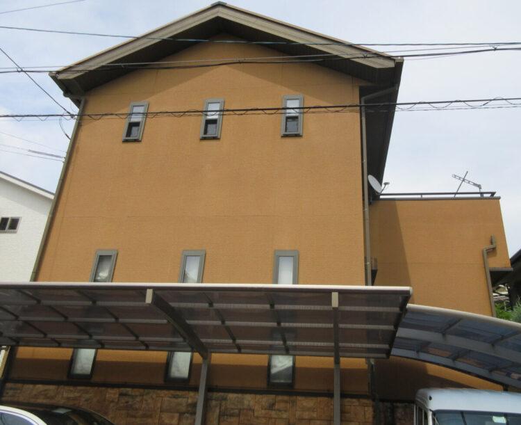 奈良生駒郡三郷町I様 外壁塗装・屋根塗装 施工前の写真