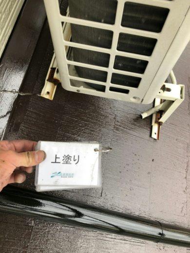 奈良大和高田市N様邸 外壁塗装・屋根塗装 屋根塗装上塗り