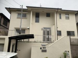 奈良香芝市O様邸 外壁塗装・屋根塗装工事