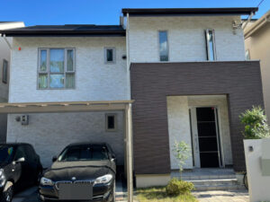 奈良香芝市H様邸 外壁塗装・屋根塗装・防水工事