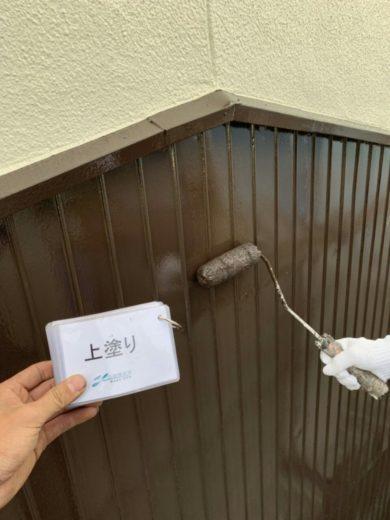 奈良大和高田市U様 外壁塗装工事 上塗り