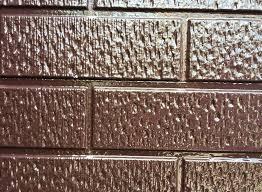 奈良の香芝市の株式会社ヨネヤの外壁塗装と屋根塗装のサイディングボードの画像