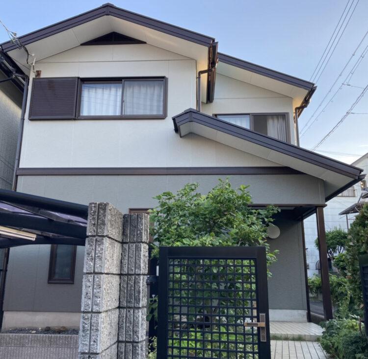 奈良県生駒郡斑鳩町H様 外壁塗装・屋根塗装 施工後の写真