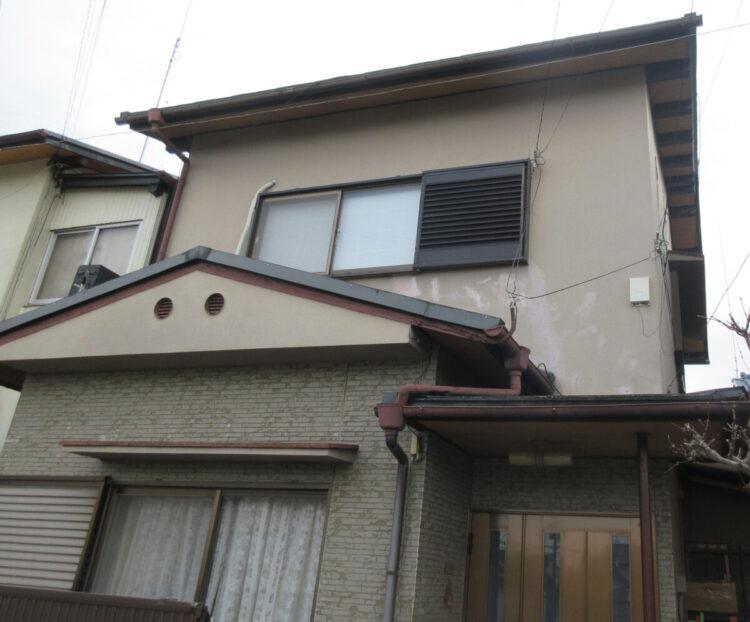 奈良県大和高田市A様鄭 外壁塗装・屋根塗装 施工前の写真
