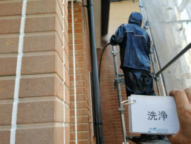 奈良香芝市S様邸 外壁塗装・屋根塗装 高圧洗浄