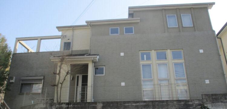 奈良県奈良市O様邸 外壁塗装・屋根塗装・防水工事 施工前の写真