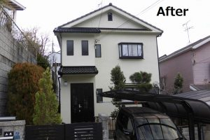 生駒市西旭ヶ丘地区 外壁・屋根塗装工事