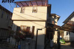 大阪府南河内郡太子町山田地区T様 外壁・屋根塗装工事