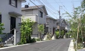 奈良の香芝市の株式会社ヨネヤの外壁塗装と屋根塗装の周囲の景観