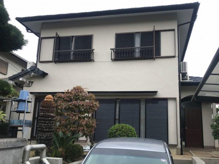 奈良県北葛城郡 S様邸 外壁塗装工事 施工後の写真