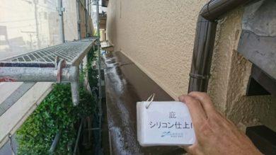 奈良香芝市T様 外壁塗装 庇シリコン仕上げ
